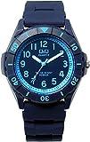 [シチズン]Q&Q 腕時計 10気圧防水 ウレタンバンド メンズ レディース VR58-007 ネイビー ブルー [国内正規品]
