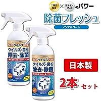 2本セット TOAMIT 除菌フレッシュ ノンアルコール 除菌スプレー 日本製 国内製造品 除菌 ウイルス 予防 空間スプレー 消臭 消臭スプレー