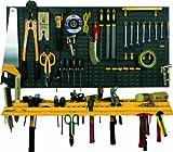 工具壁掛けボードキット 100×50cm 工具箱 収納 整理