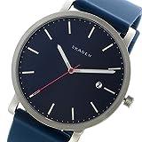 スカーゲン SKAGEN ハーゲン HAGEN シリコンベルト クオーツ メンズ 腕時計 SKW6343 ネイビー [並行輸入品]