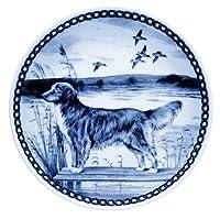 デンマーク製 ドッグ・プレート (犬の絵皿) 直輸入! Nova Scotia Duck Tolling Retriever / ノヴァ・スコシア・ダック・トーリング・レトリーバー