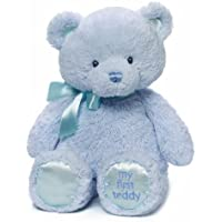 babyGUND マイ 1st テディベア ブルー M #4043976