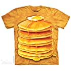 The Mountain Tシャツ Big stack Pancakes (パンケーキ) Adult S-sizes 小柄メンズ対応サイズ