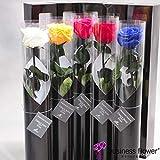 プリザーブドフラワー Luxury Rose 5本セット【FL092-01,05,08,12,17,】【ビジネスフラワー】<誕生日祝い 結婚祝い 結婚記念日 出産祝いに>
