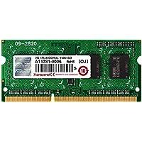 Transcend ノートPC用メモリ PC3L-12800 DDR3L 1600 2GB 1.35V (低電圧) - 1.5V 両対応 204pin SO-DIMM TS256MSK64W6N