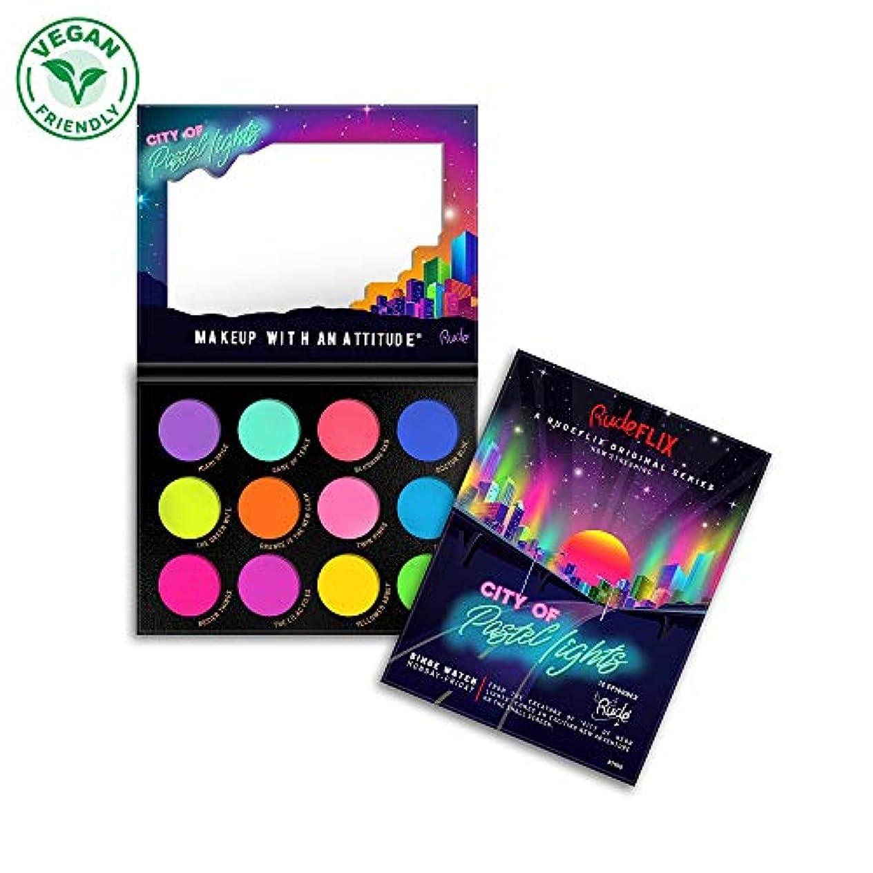 反対したアーティスト別れるRUDE City of Pastel Lights - 12 Pastel Pigment & Eyeshadow Palette (並行輸入品)