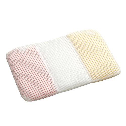 西川 リビング 手作り キッズ まくら 32×50cm ピンク パイプ 2435-70074