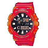 [カシオ]CASIO G-SHOCK Gショック ジーショック メンズ G-LIDE アナログ デジタル アナデジ レッド×オレンジ 20気圧防水 海外モデル GAX-100MSA-4A 腕時計[並行輸入品]
