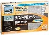 トミーテック トミックス カント付レール基本セットCA 91011
