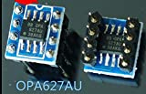 PO Sourse 単一の演算増幅器2とOPA627AU*2 OPA627 オーディオパッチが溶接デュアル・オペアンプのターンを持っています2PCS/LOT [並行輸入品]