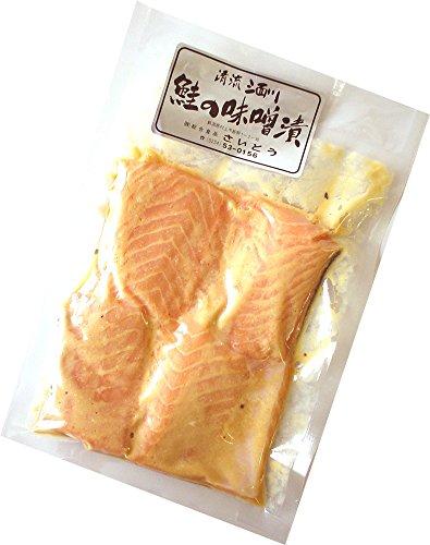 新潟村上 鮭の味噌漬け 4切入り