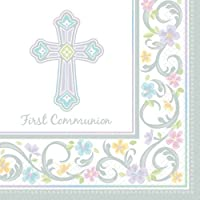 Blessed Day Communion Beverage Napkin 36ct by Factory Card and Party Outlet