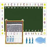 日本理化学 おふろdeキットパス ネット&シートセット ブルー&黒板 OFB-BUG
