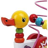 goodsceneクリエイティブpull-alongおもちゃ子供の教育玩具ベビー木製Duck Pull Alongおもちゃ