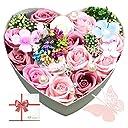floralbijou(フローラルビジュー) ブリザード フラワー 花 プレゼント プリザーブドフラワー 結婚祝い 花束 誕生日 (ピンク)