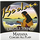 【KO'OLAU STRINGS】 MAHANA CONCERT PLAIN コンサート用 ウクレレ弦セット (クリアナイロン)