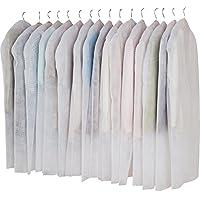 アストロ 洋服カバー 16枚組 フリル調 両面不織布 大切な洋服をホコリや湿気・汚れから守ります!  605-01