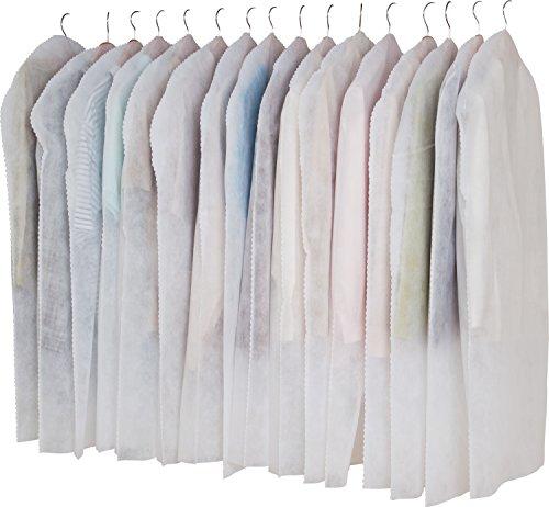 アストロ 洋服カバー 16枚 両面不織布 フリル調 605-01