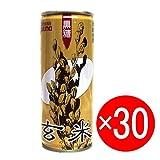 〔沖縄の健康飲料〕ゆうな 黒糖玄米 250g缶入X30 1ケース