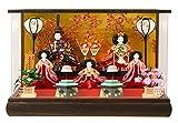雛人形 コンパクト ケース ひな人形 清玉 画像