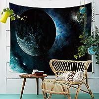 タペストリー、掛け布団シーツブランケット宇宙惑星タペストリー布ポリエステル壁掛けプリントタオル家の壁の装飾ベッドルームの居間の背景の壁 (Color : 009, Size : 200cm*150cm)