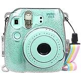 Fintie FUJIFILM インスタントカメラ チェキ Fujifilm instax mini 9 / mini 8 / mini 8プラス クリア カメラケース 透明 ハード PVC ..