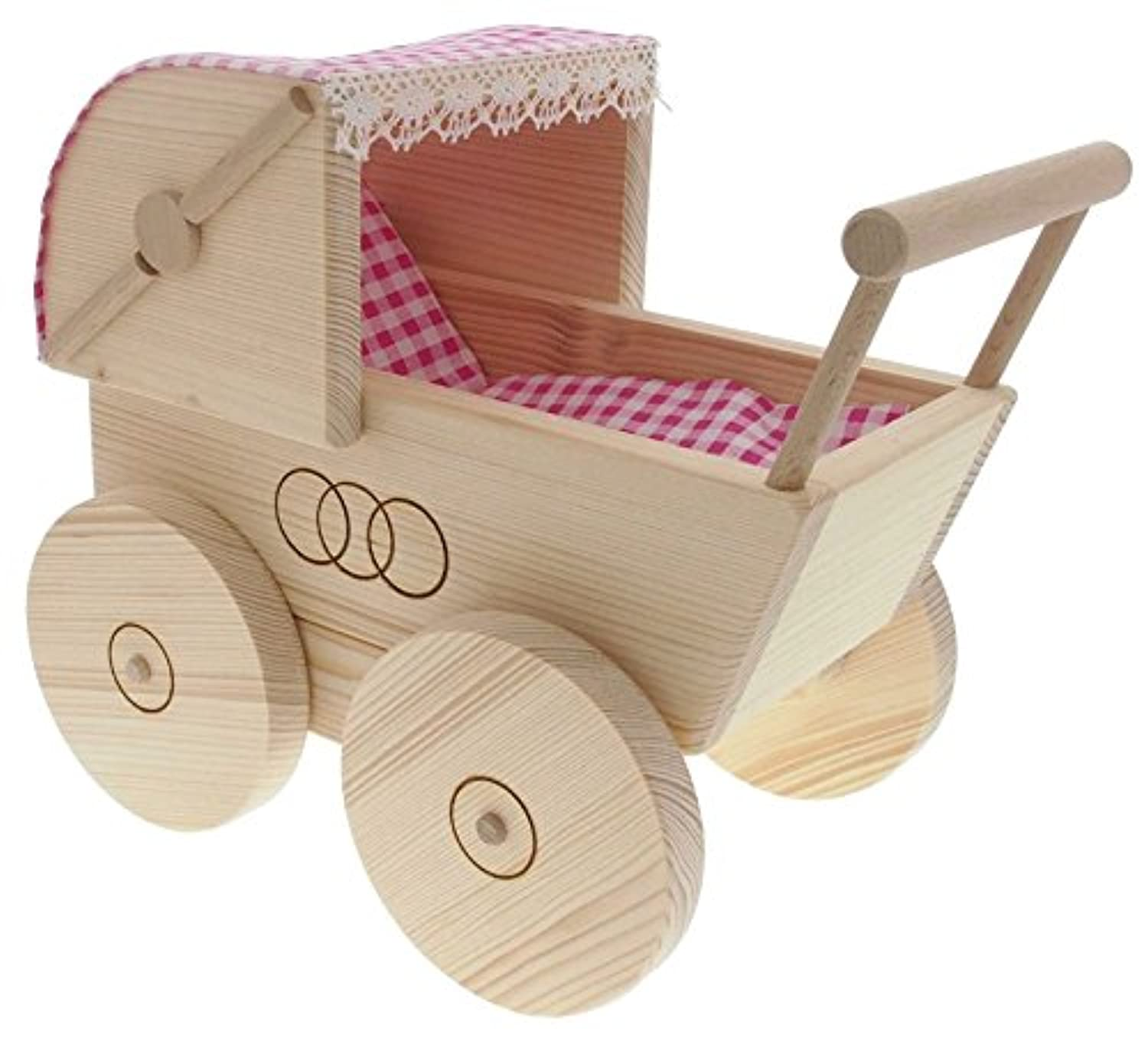 ABA Pushchair with Blanket andクッション