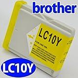ブラザー(brother)対応 互換インク LC10系(LC10Y) イエロー単品 プリンターインク