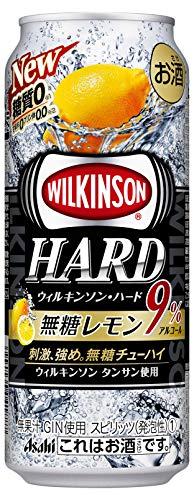 ウィルキンソン ハード 無糖レモン 500ml缶 500ML × 24缶