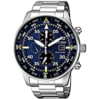 Citizen Men's Solar Powered Wrist watch, stainless steel Bracelet analog Display and Stainless Steel Strap, CA0690-88L