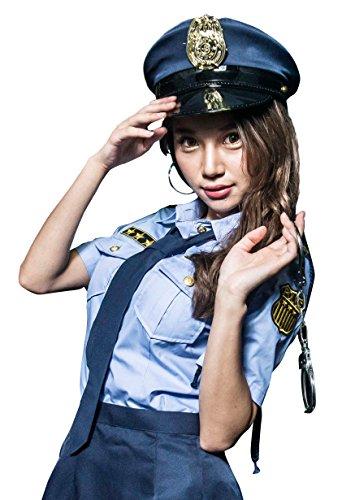 (コスチューム)costume ポリス衣装 警察官セット Lサイズ(l)