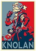 ポスターBattle Chaser「Propaganda」Knolan–a3( 42x 30cm )