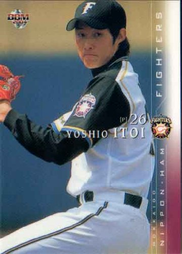 BBM2004 北海道日本ハムファイターズ レギュラーカード No.F16 糸井嘉男