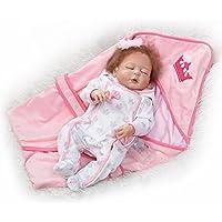 Rebornベビー人形ソフトフルボディシリコンビニール22インチ55 cm Lovely Lifelike赤ちゃん男の子女の子おもちゃかわいい