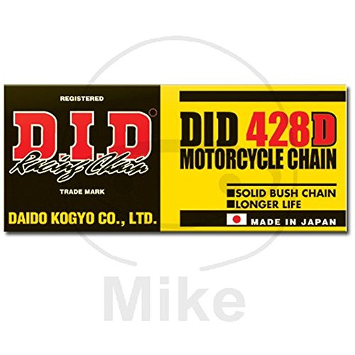 D.I.D(大同工業)バイク用チェーン クリップジョイント付属 428D-116RB STEEL(スチール) 二輪 オートバイ用