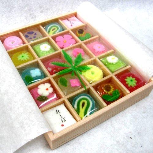 花園 (小) 20個入り 京都 和菓子 詰め合わせ ギフト プチギフト プレゼント 贈り物 お土産 海外 人気 定番 お中元 お歳暮