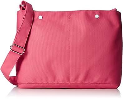 [アネロ] ショルダーバッグ ミニポーチ付10ポケットショルダーバッグ AT-S0111 PI ピンク