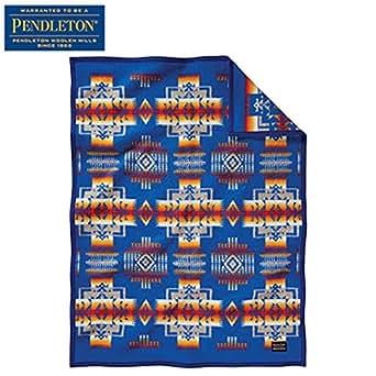 PENDLETON(ペンドルトン) チーフジョセフクリフブランケット ZD632 51164(Blue) 112×81cm 19373097164000