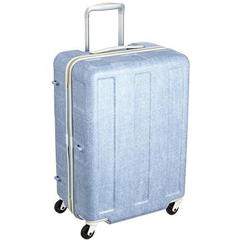 [プラスワン] PLUS ONE 軽量スーツケース ブーン 57L 3.2kg 3~5泊対応  シューズケース2個付き 119-56D Bleach (ブリーチ)