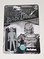 Funko ReAction Creature From theブラックLagoon Universal Monsters 3.75インチアクションフィギュア2015NYCCブラック&ホワイトExclusive 1of 2000[ New York Comic Con ]
