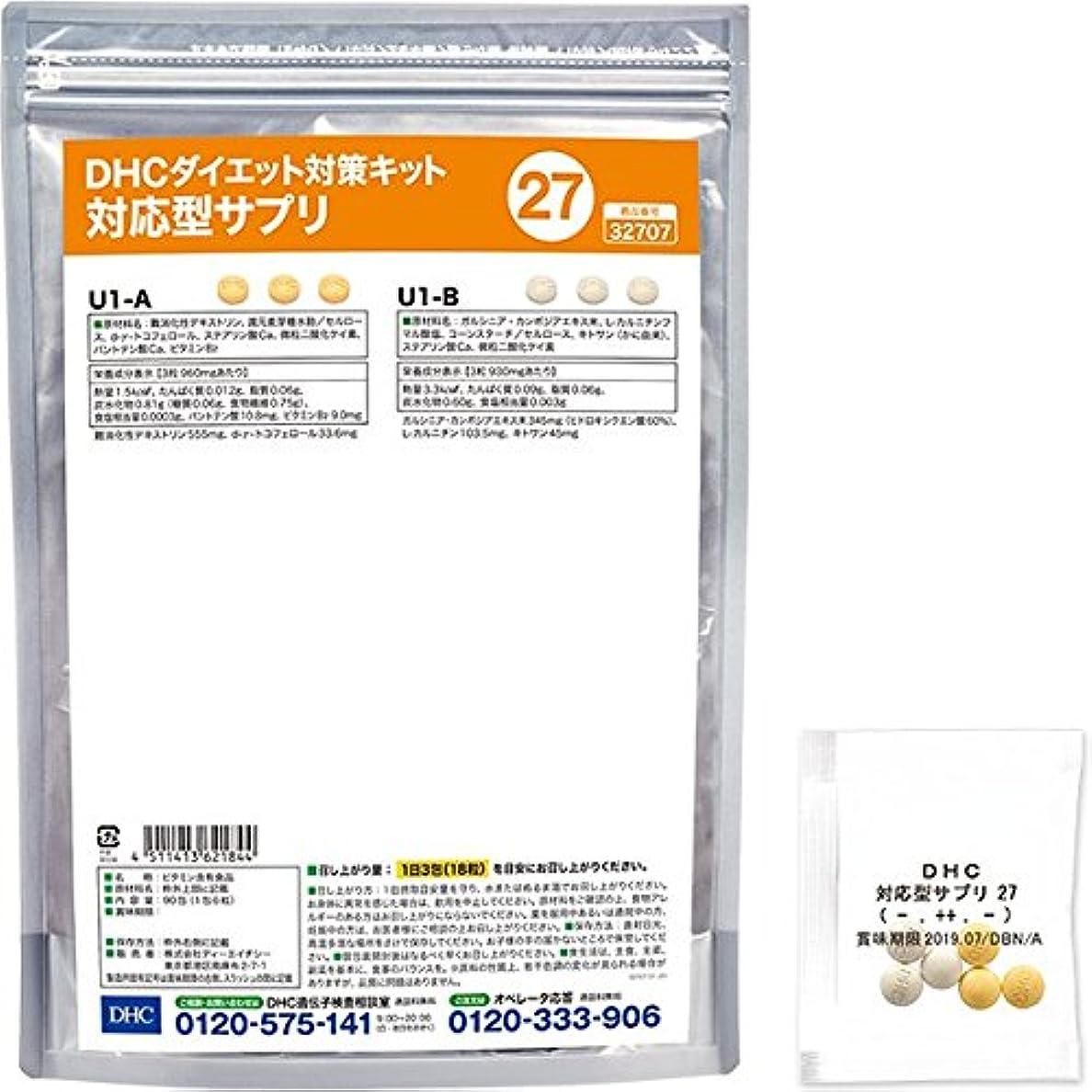 DHCダイエット対策キット対応型サプリ27