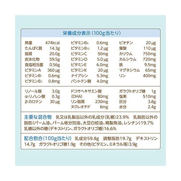和光堂 フォローアップミルク ぐんぐん 粉ミル...の紹介画像6