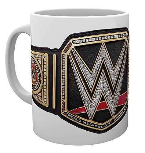 [해외]WWE 공식 세계 헤비급 챔피언 벨트 머그컵 MG1683/WWE Official World Heavyweight Championship Belt Mug Cup MG 1683