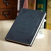 クリエイティブなシンプルな日記A5の目を肥厚させる学生ノートブックの文房具ハードコピービジネスメモ , lace black medium medium
