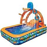 インフレータブルパドリングプール、多機能子供用プレイプール、子供用インフレータブル玩具プール、スライドボールマリンボールプール