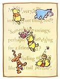 un doudou ベビー ニューマイヤー 毛布 Disney Pooh ≪85×115cm≫ 【Premium 極上の肌触り】 〔選べる3柄〕 No.NZ1864-BE