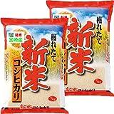 29年産 新米 100% 九州 宮崎産 コシヒカリ 10kg (5kg×2) (5分づき 約4.75kg×2袋でお届け)