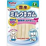 ペティオ NEW 国産 ミルク風味ガム ロール 7本入