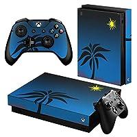 igsticker Xbox One X 専用 スキンシール 正面・天面・底面・コントローラー 全面セット エックスボックス シール 保護 フィルム ステッカー 000008