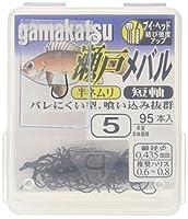 がまかつ(Gamakatsu) シングルフック ザ・ボックス 瀬戸メバル 5号 95本 フラットブラック 67061